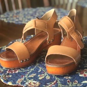 Lucky Heels / Wedges - 6.5